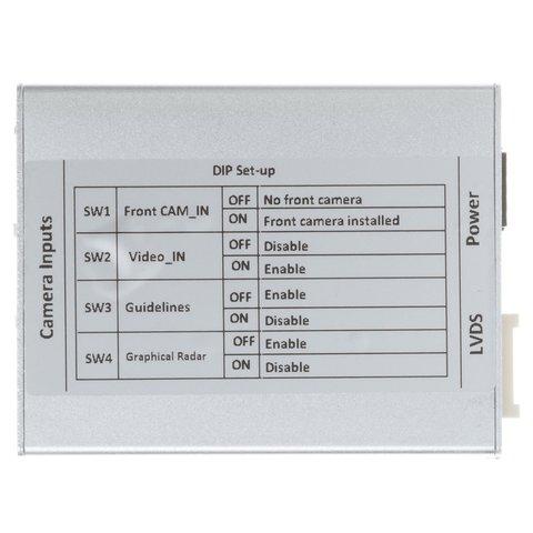 Адаптер під'єднання камери заднього виду для Audi A3 і Volkswagen Golf 7 Прев'ю 3