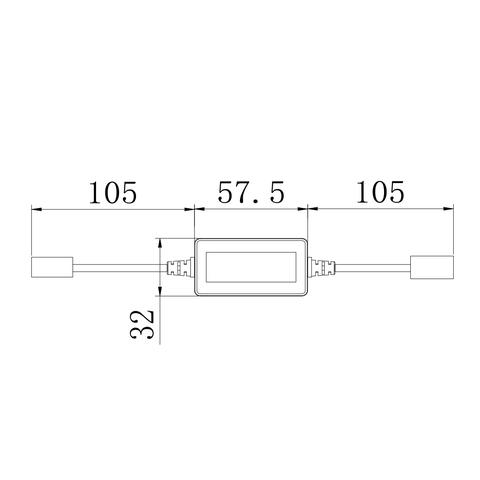 Адаптер CAN-шини для запобігання помилок світлодіодних ламп головного світла UP-DE-H4 Прев'ю 1