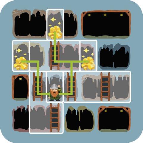 Дорожня магнітна гра-головоломка Smart Games Золото гнома Прев'ю 2