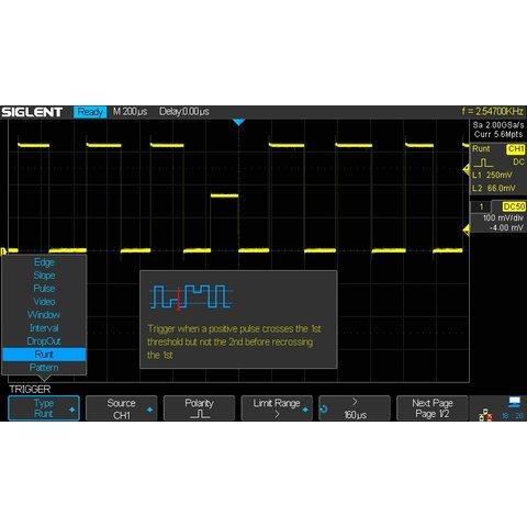 Super Phosphor Oscilloscope SIGLENT SDS2304X Preview 8