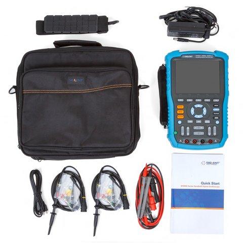 Handheld Digital Oscilloscope SIGLENT SHS820 Preview 3